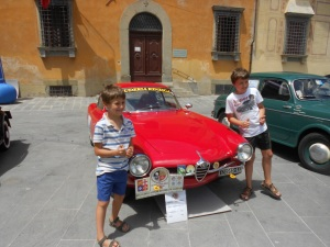 the boys with the cars