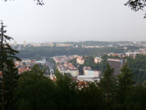 view from hill