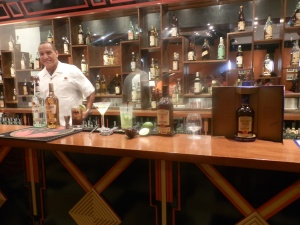 learning the best of Bacardi mixed drinks